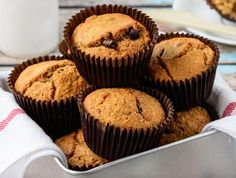Read our delicious recipe for Chocolate Chip Muffins, a recipe from The Healthy Mummy, which is a safe way to lose weight after having a baby.