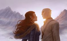 Solas And Levellan by slugette on DeviantArt