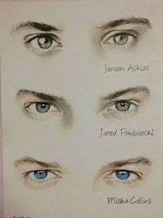 Beautiful eyes-Supernatural boys