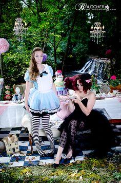 Alice in Wonderland photoshoot by Brutcher Photography