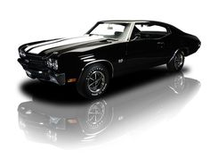 Tuxedo Black 1970 Chevrolet Chevelle Super Sport | RK Motors Charlotte | Collector and Classic Cars