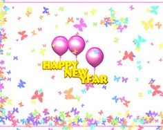 Butterflies New Year is a free power point that you can download for free to express your friends and family the best wishes on a prosperous new new year