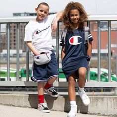 Check out these sporty kids, Carolyn's Kids Talent Laila A. & Vaughn S., in this ad for Great job kids. Boy Models, Child Models, Girl Model, Champion Sportswear, Kids Talent, Talent Agency, Fitness Models, Sporty, Ads