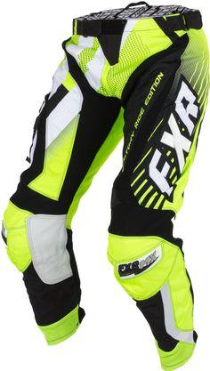 FXR Racing - 2015 MX Apparel - Factory Ride Edition Pant - Black/HiVis