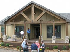 gable mobile home porch | Point to any photo or Click to Zoom.