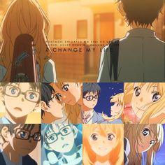 Shigatsu wa kimi no uso-Change my life AMV   By Anime United   (This is a really good amv)