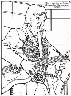 FREE famous people coloring pages