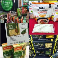BEST GLUTEN FREE PASTA - including Vivana, Tolerant, House Foods and Miracle Noodle. Best of Gluten Free at Winter Fancy Foods 2017