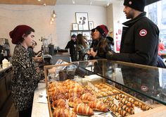 """Petite Shell, 1269 Lexington Avenue (85th Street) - Shmilly Gruenstein, a food- and coffee-loving entrepreneur, is usually disappointed with the pastries served by fine coffee purveyors. """"I want a balance between the quality of the coffee and the pastry,"""" he said. So he has opened Petite Shell, a cafe and bakery specializing in rugelach. They come in savory flavors like tomato-pecorino and blue cheese with pear, and in sweet ones like Nutella."""