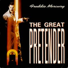 "For Sale - Freddie Mercury The Great Pretender UK  7"" vinyl single (7 inch record) - See this and 250,000 other rare & vintage vinyl records, singles, LPs & CDs at http://eil.com"