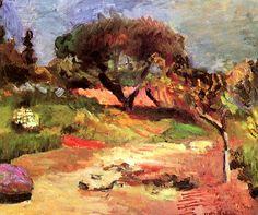 Henri Matisse | Corsican Landscape