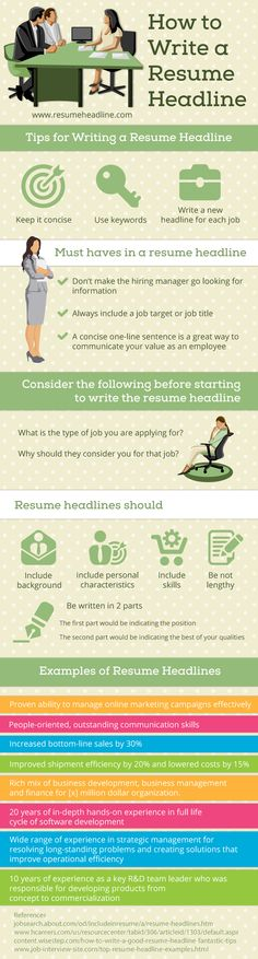 How to Become an Event Planner in 2017 Infographic Event - how to write a resume headline