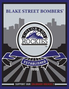 Colorado Rockies Speakman art (Target)