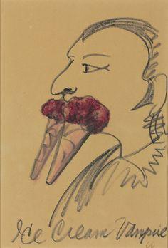 Claes Oldenburg (American, b. 1929)Ice Cream Vampire  Christie's Interiors