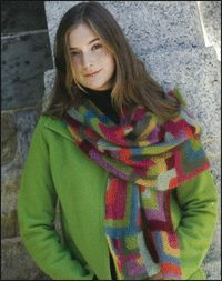 Free Mitered Color Knitting Patterns