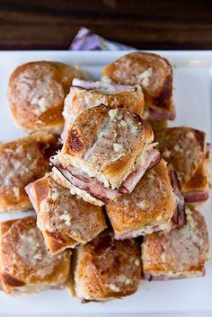 Baked Croque Monsieur Sliders