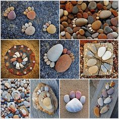 Decorating with pebbles