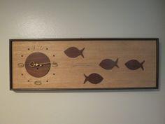 My fish clock - Chris Z Cool Clocks, Retro Renovation, Vintage Walls, Cool Photos, Mid Century, Cricut Ideas, Fish, Home Decor, Cool Watches
