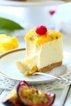 Mango passion kiille raikastaa juustokakun Tart, Cheesecake, Food And Drink, Baking, Desserts, Recipes, Easter, Passion, Drinks