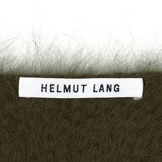 Instagram media by helmutlang - Logo, 2015.  In the course of relaunching Helmut Lang, we looked to the history of the brand. The iconic imagery. The essential spirit.