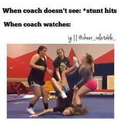cheer workouts This looks like it hurts This looks like it hurts This looks like it hurts This looks like it hurts Funny Cheer Quotes, Cheer Qoutes, Cheer Funny, Funny Memes, Cheerleading Memes, Cheer Stunts, Cheer Dance Routines, Cheer Fails, Cheer Team Pictures
