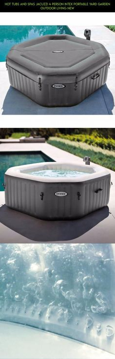 Hot Tubs and Spas Jacuzzi 4 Person Intex Portable Yard Garden Outdoor Living NEW #products #drone #racing #kit #jacuzzi #tech #plans #4 #parts #tubs #fpv #shopping #gadgets #person #technology #camera #and #spas #hot