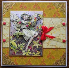 Made using Crafter Companion Flower Fairies CD