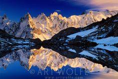 Les Aiguilles (Chamonix Needles), Alps, France