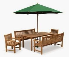 Jati Furniture Minimalis: KURSI TAMAN PAYUNG