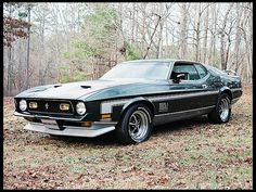 1971 Ford Mustang Mach 1 351 CI, 4-Speed