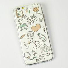 Capinha para celular Coisas de Médico
