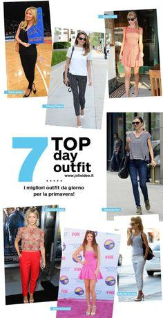 Outfit da giorno Primavera 2014 - 7 Look delle Star da copiare