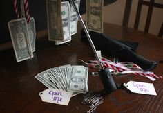 Money Umbrella Gift Idea - perfect for teenage boys or girls for birthdays graduation or Christmas.