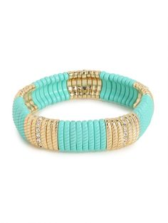 mint and gold. love!