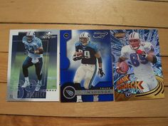 FRANK WYCHECK 6 Card Lot Tennessee Titants Maryland Terrapins Tight End Mint NFL