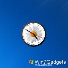 Modern Clock GT-7 Win7 Gadget