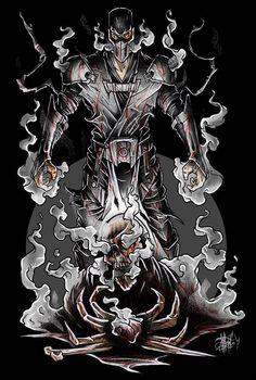 SMOKE / Mortal Kombat by Nikita Shalaginov