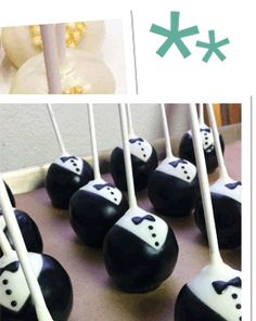 Cake Decorating Project Spotlight: Cake Pop Inspiration - Tuxedo - Ideas of Tuxedo - Tuxedo Cake Pops James Bond Cake, James Bond Party, Casino Night Party, Casino Theme Parties, Nake Cake, Tuxedo Cake, Casino Cakes, 50th Birthday Party, Dinner Recipes For Kids