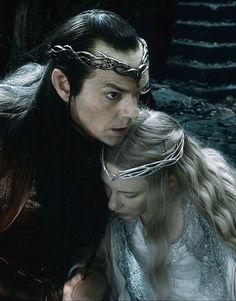 A girl of Middle-Earth — thranderys: Elrond & Galadriel