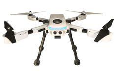 ... robô aéreo com suporte para câmeras como GoPro (Foto: Divulgação