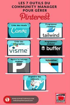 Les 7 outils du community manager pour gérer Pinterest via @sophieturpaud
