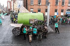 St. Patrick's Day Parade (2013) In Dublin Was Excellent But The Weather And The Turnout Was Disappointing [The Streets Of Ireland]