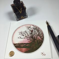 Fountain Pen Ink, Ink Illustrations, 18 Months, Bleach, Letters, Cards, Cyprus, Letter, Maps