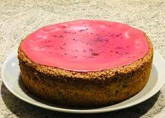 Mandelkage med Amarena-kirsebær Cheesecake, Desserts, Tailgate Desserts, Cheese Cakes, Dessert, Cheesecakes, Deserts, Food Deserts, Postres