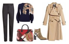"""""""♡"""" by iojikxamiak on Polyvore featuring Burberry"""
