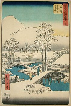 hiroshige woodblock prints | Utagawa Hiroshige , 1797-1858