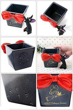 tudio Ghibli Kiki's Delivery Service Flower Pot Cover Red Ribbon Gift