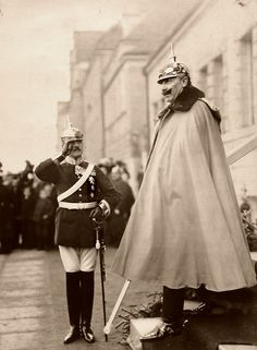 Wilhelm II the last German Emperor and King of Prussia.