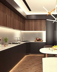 How To Incorporate Contemporary Style Kitchen Designs In Your Home Kitchen Room Design, Modern Kitchen Design, Interior Design Kitchen, Kitchen Colors, Kitchen Decor, Small Kitchen Redo, Modern Kitchen Interiors, Kitchen Models, Kitchen Cabinetry