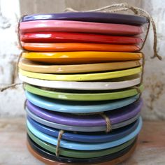 Wobbly by atelierBB...love her pottery!